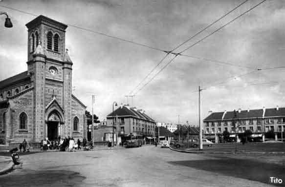 Photo Du Havre En 1959   Place De Bl U00e9ville